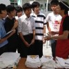 Fieldwork of Fukushima reconstruction project by Fukushima High school students on August 27, 2012