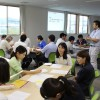 Learning session was held on August 27 at Namie town office